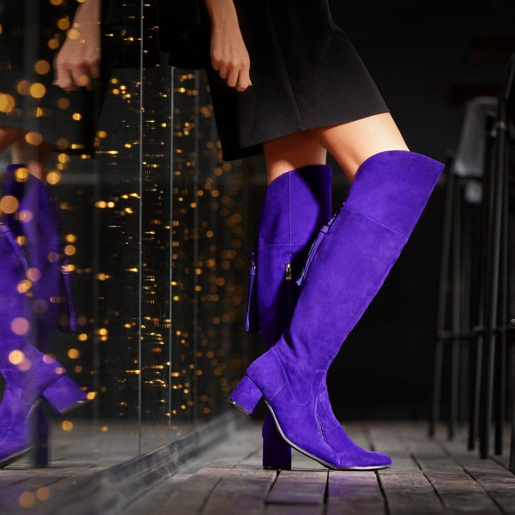 Purple Reign | Moda in Pelle