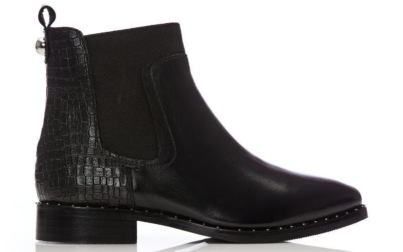 Leilana Black Leather