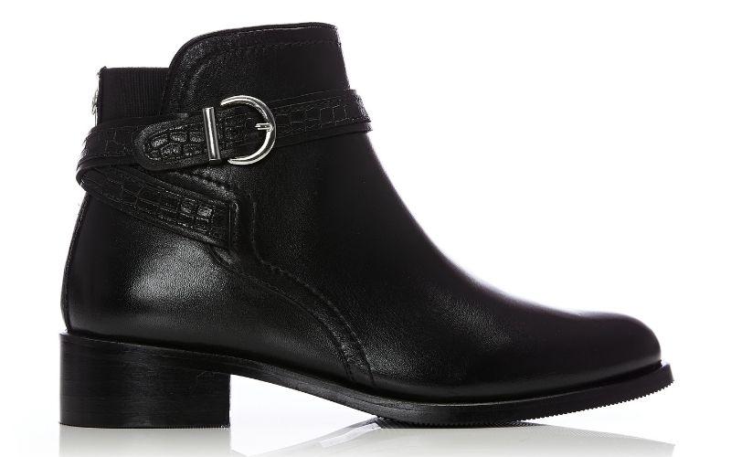 Lettia Black Leather