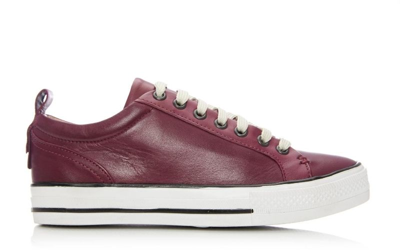 Fioni Burgundy Leather