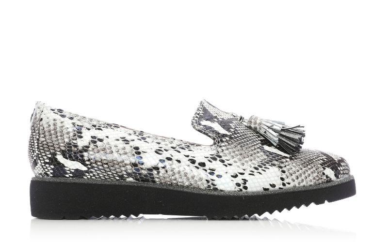 Elzora Mono Snake Snake Print Shoes