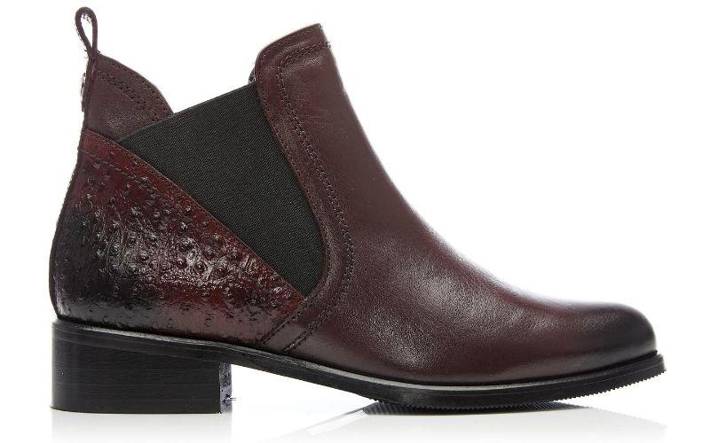 Key Burgundy Leather