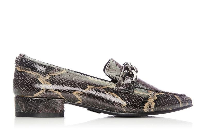 Fliss Berry Snake Print
