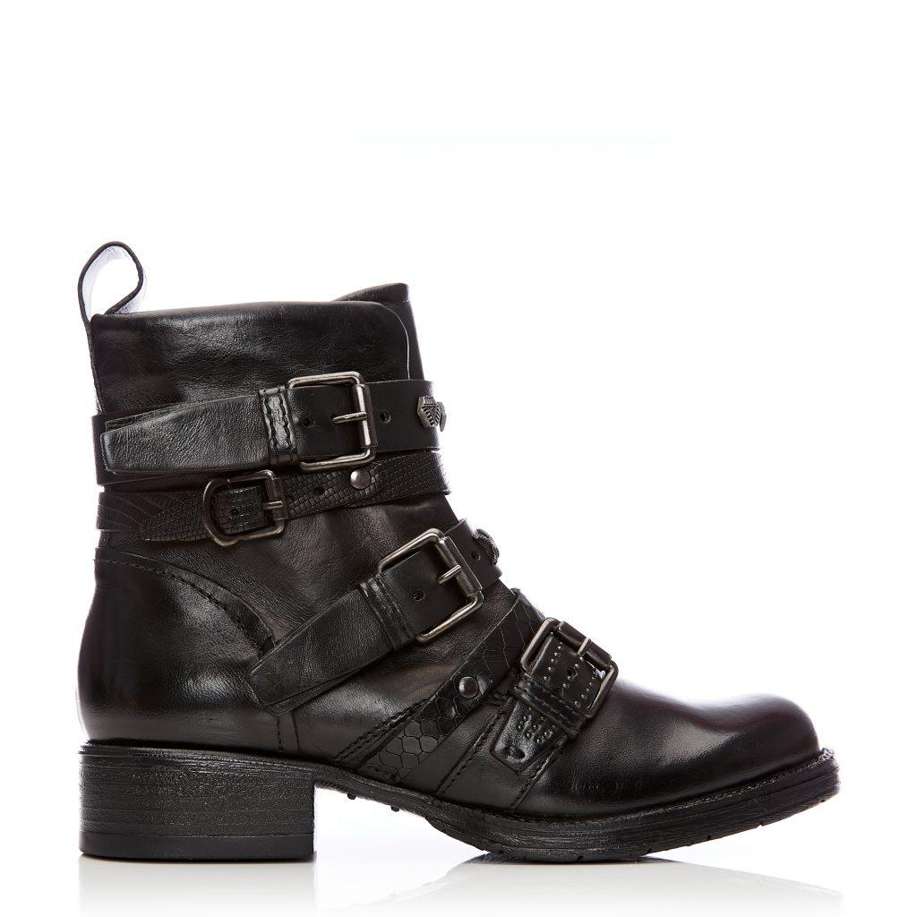 Bilanno Black Leather