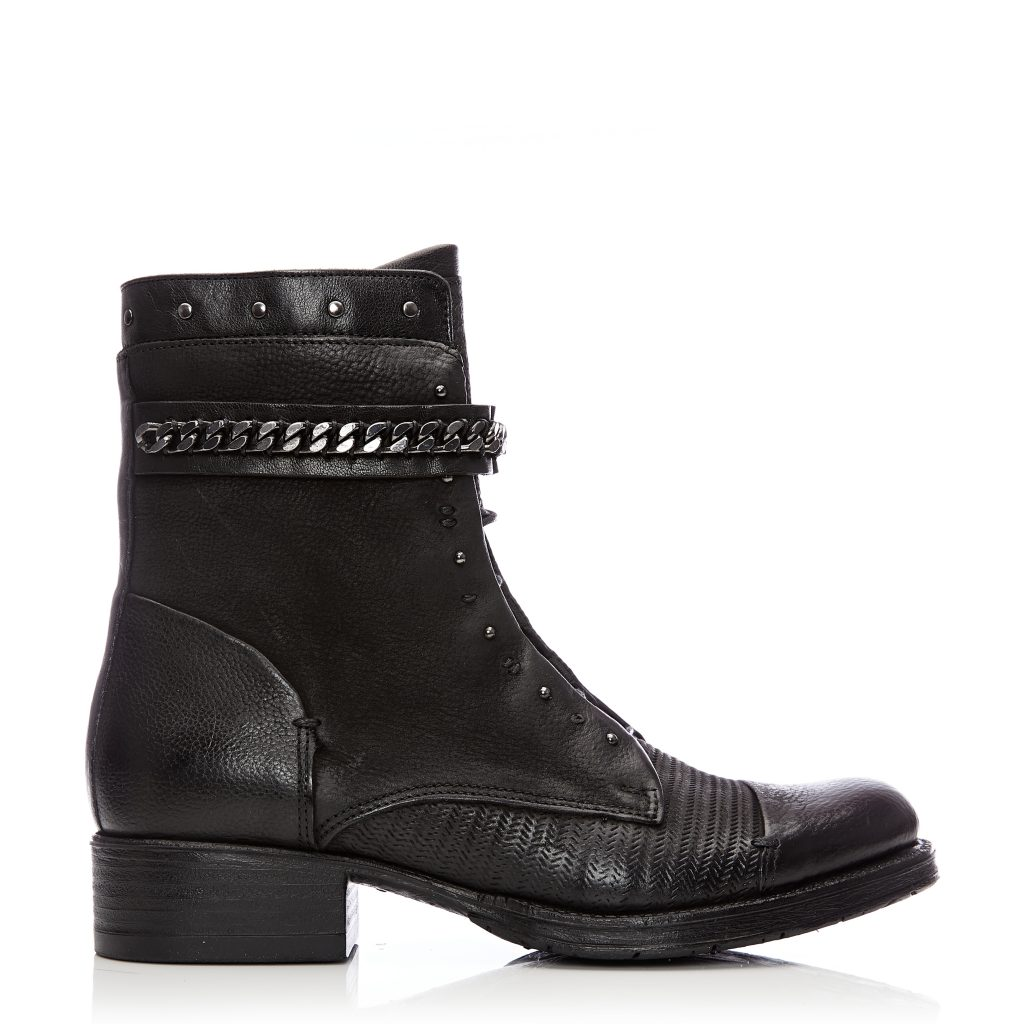 Bliss Black Leather Boots