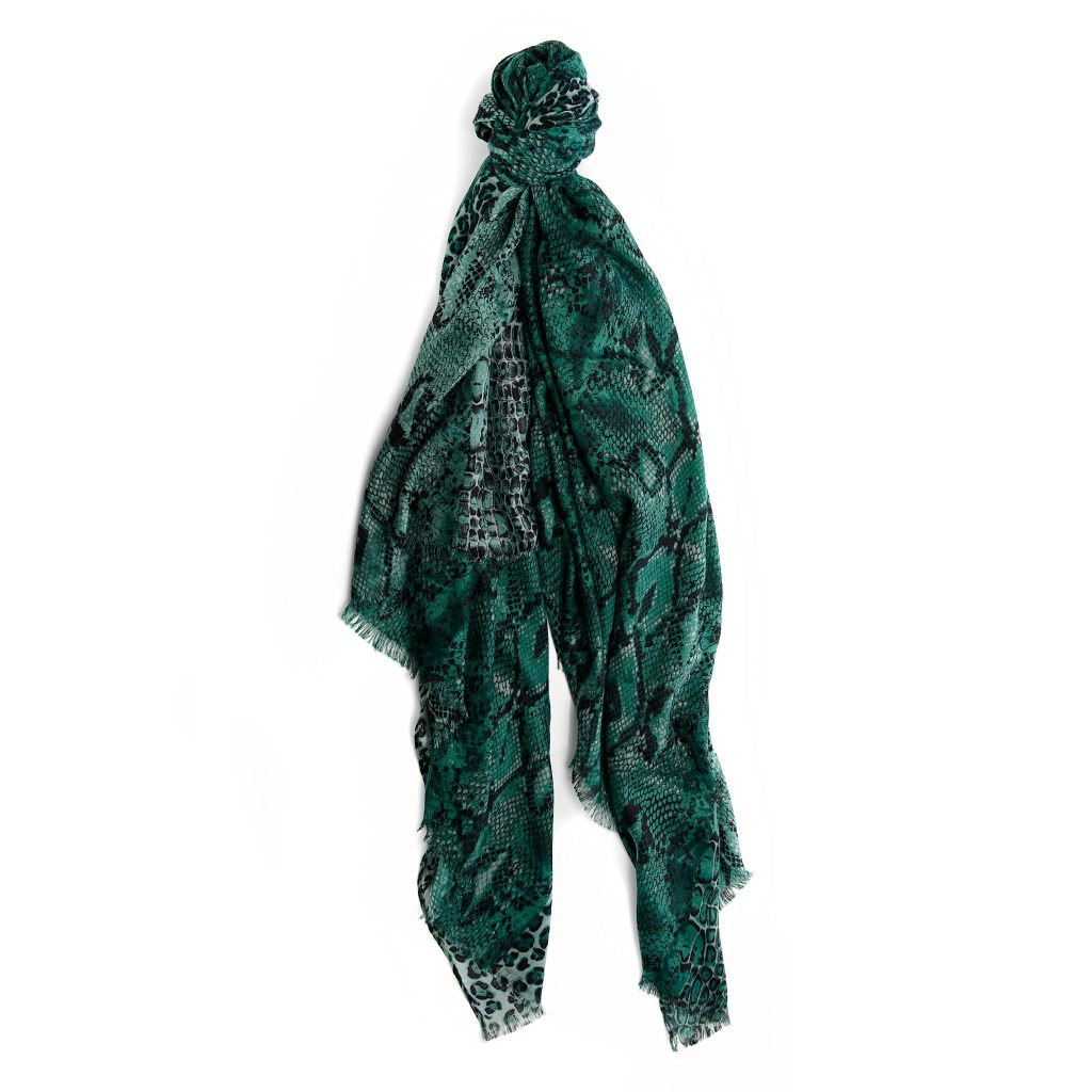 Faryiascarf Turquoise Fabric