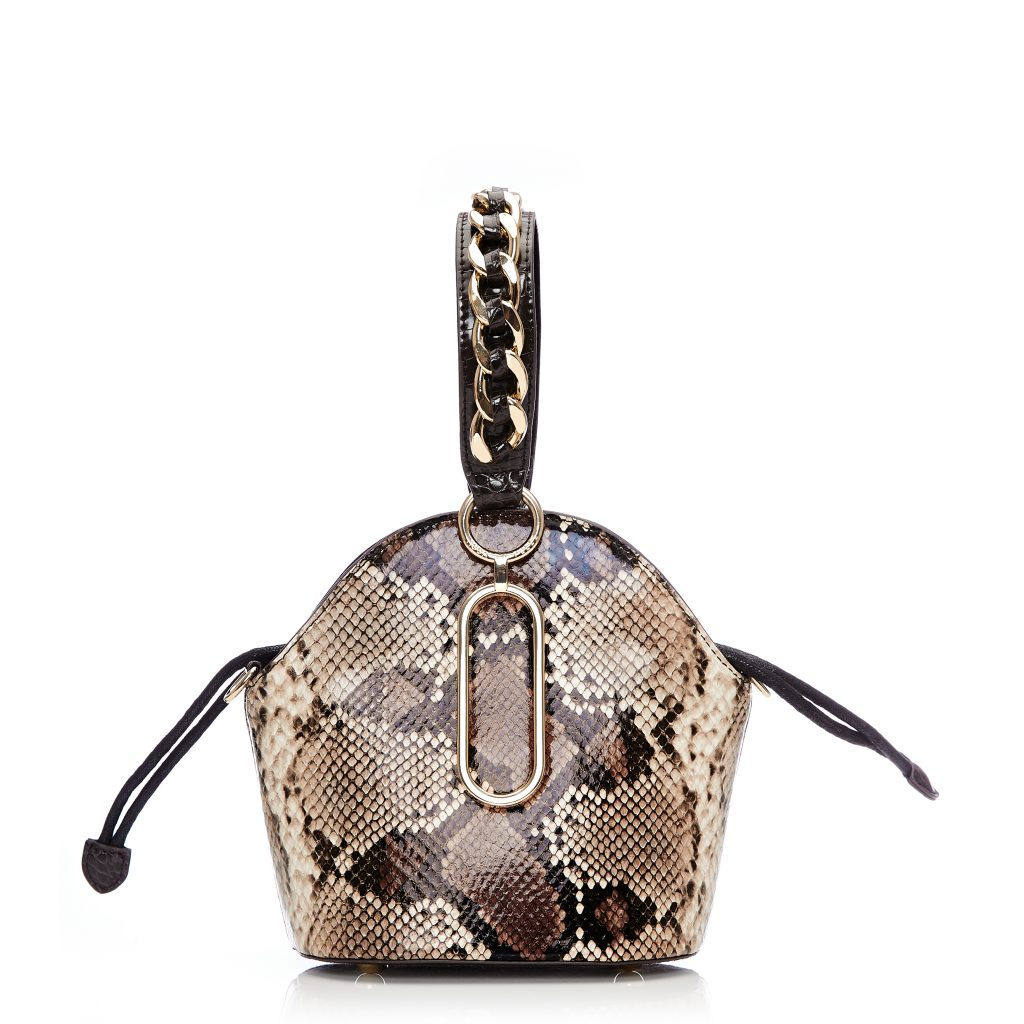 Lexibag Brown Snake Print