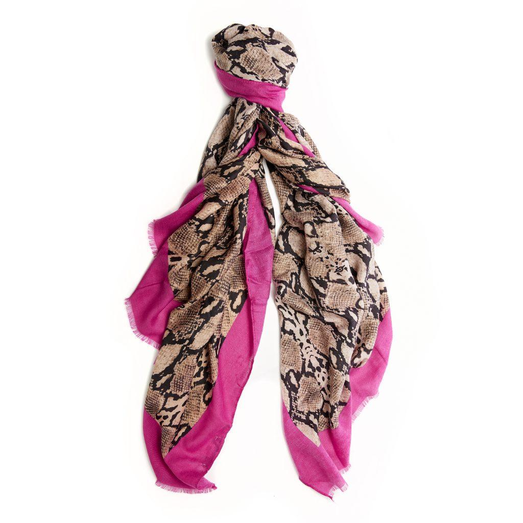 Wearascarf Fuschia Fabric