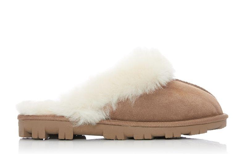 Cosie Tan Sheepskin Slippers
