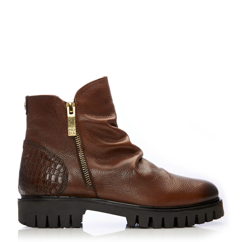 Ashleigh Tan Leather Boots