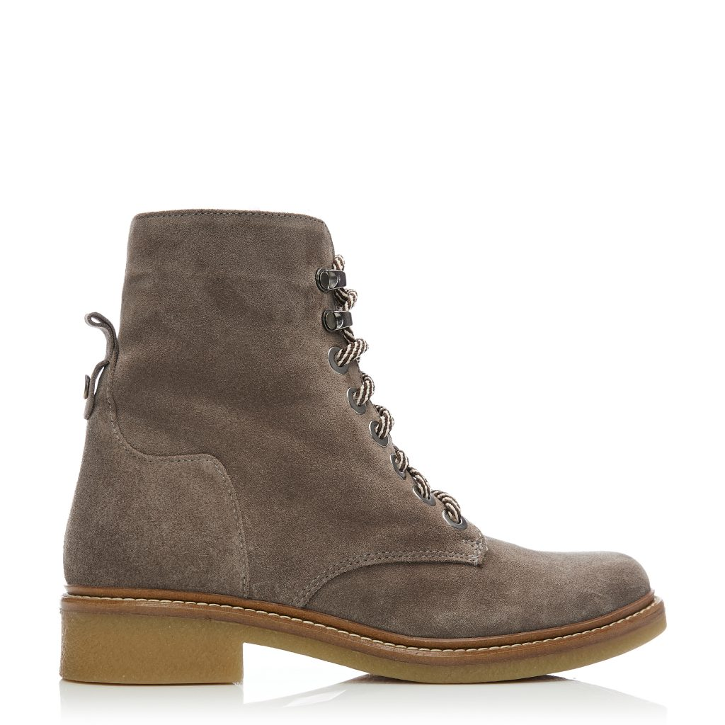 Bayla Taupe Suede Boots