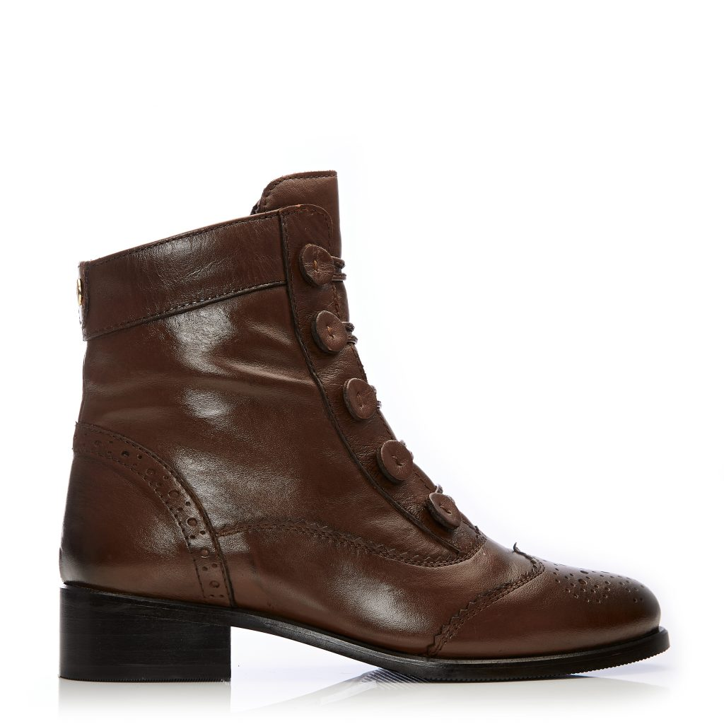 Brodie Tan Leather Boots