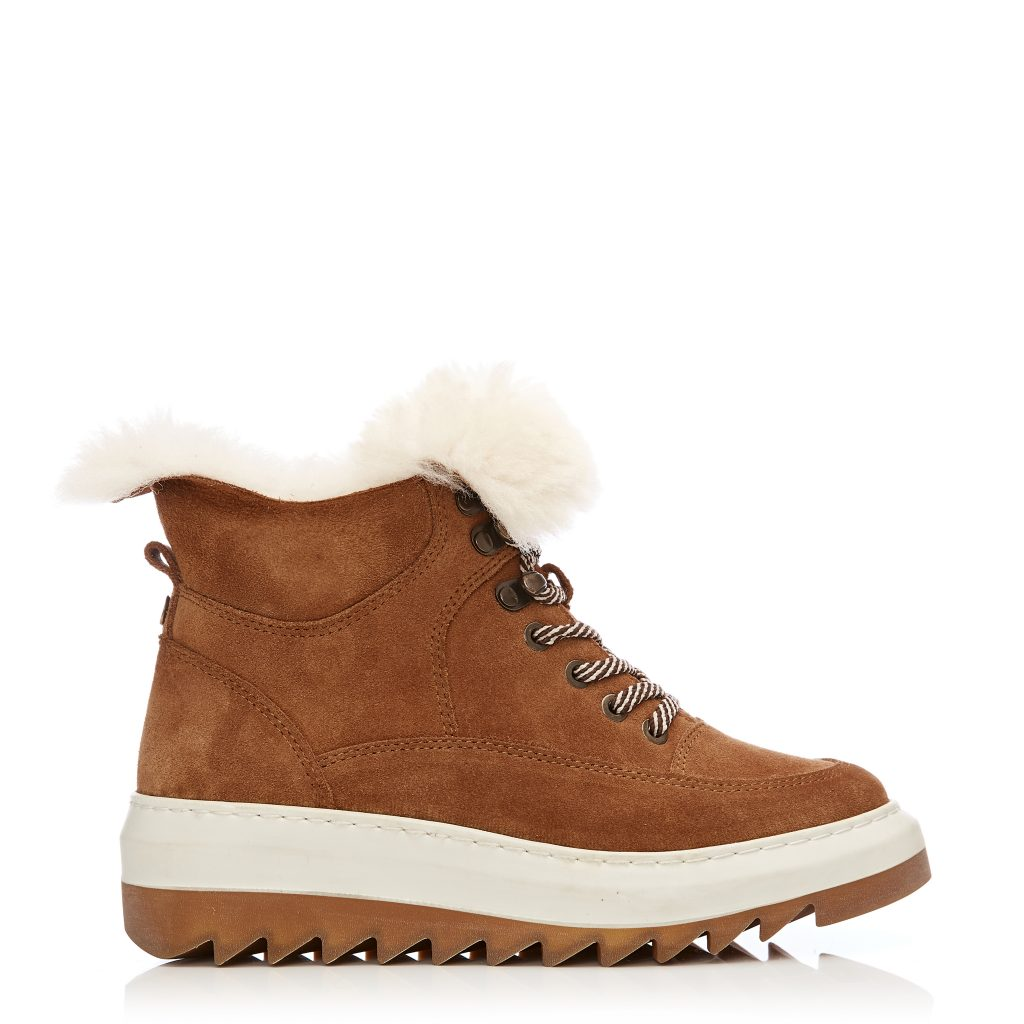 Cositte Tan Suede Boots