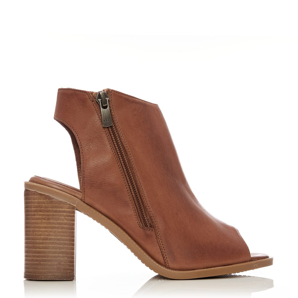 Luxury Tan Leather Boots