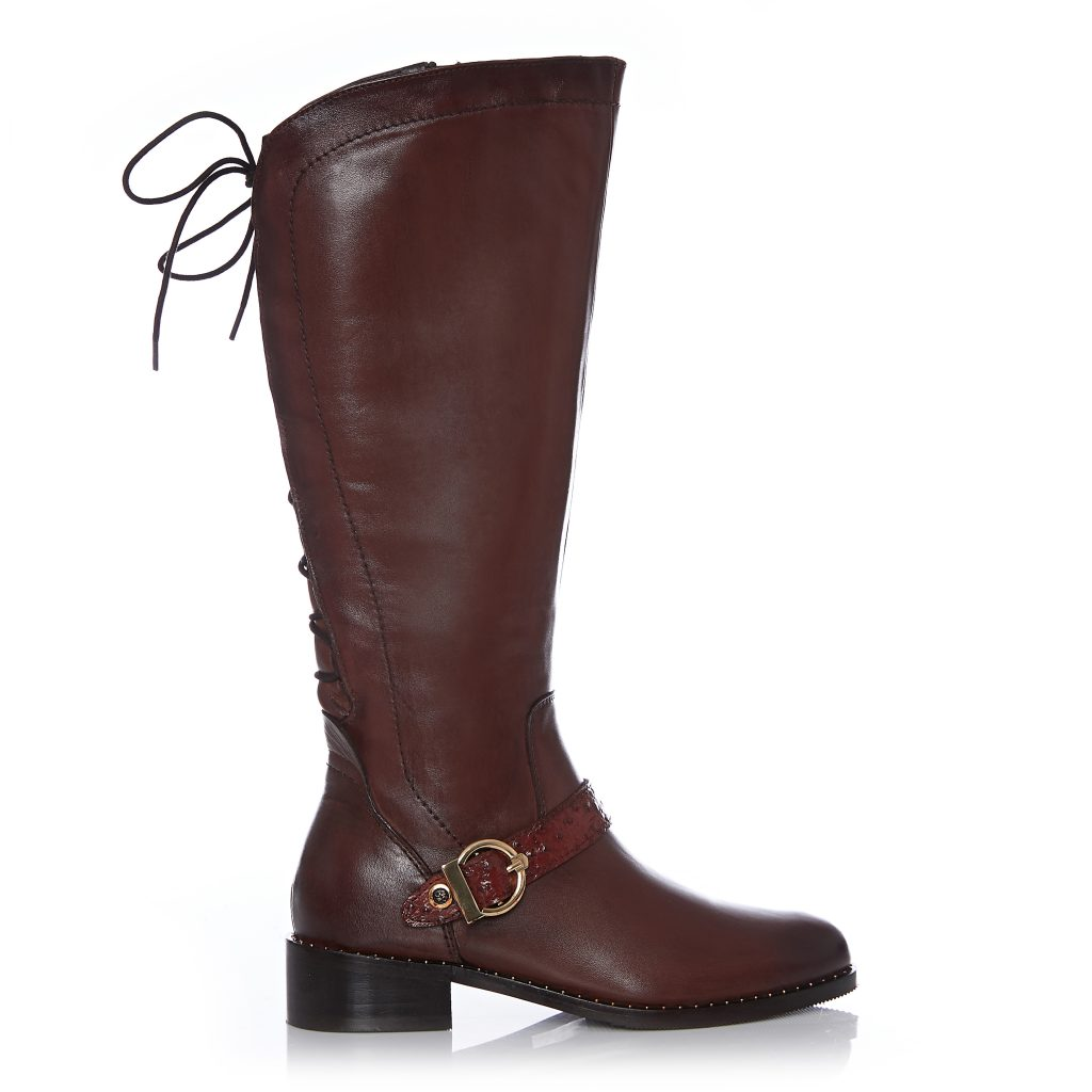 Weera Tan Leather Boots