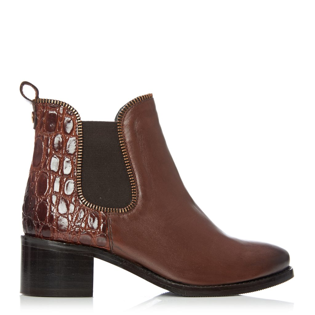 Woline Tan Leather Boots