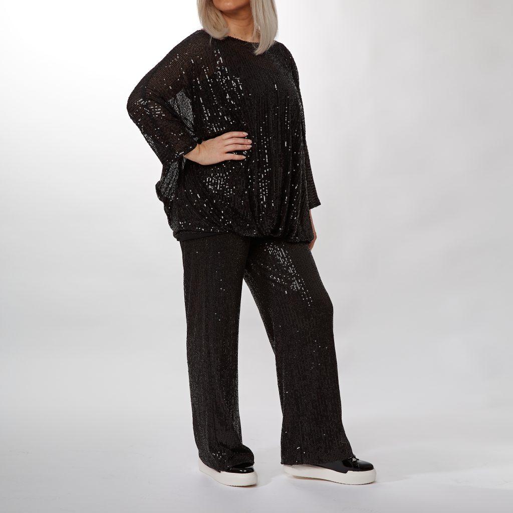 Priscilla top and Cilla trousers
