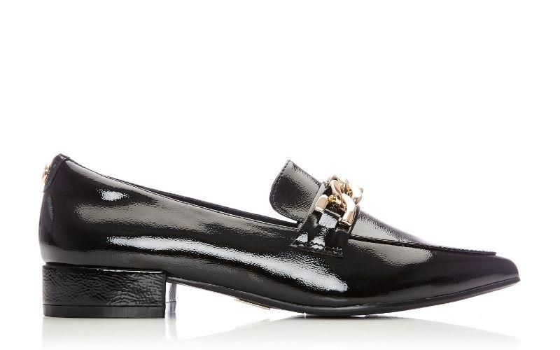 Fliss Black Patent Leather