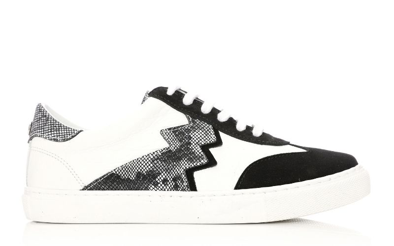 Axis Black Suede Trainers