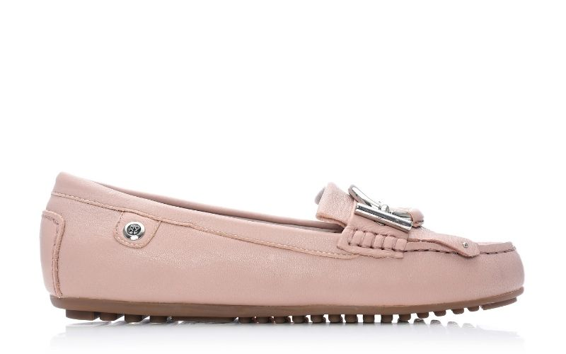 Ettie Nude Leather Shoes