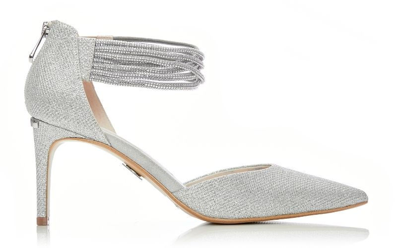Jinnie Silver Fabric