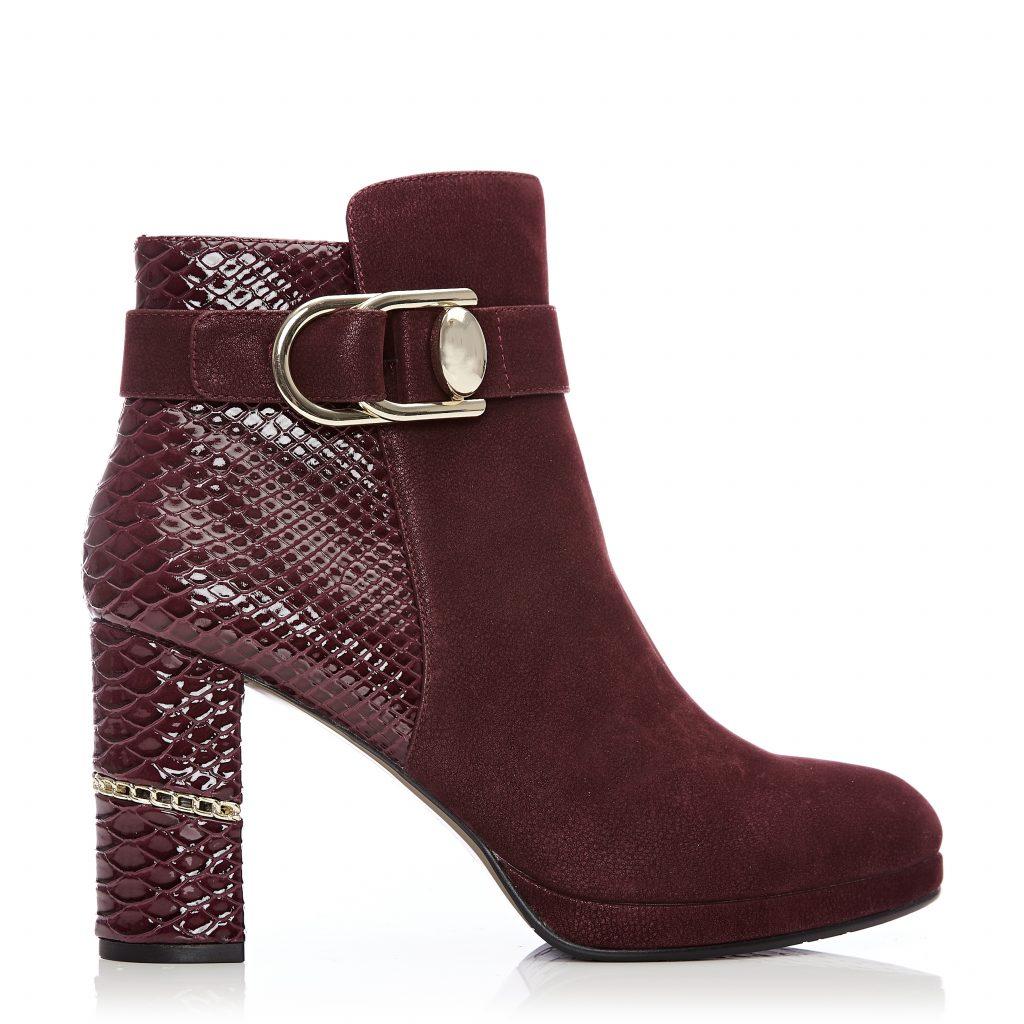 Kaia Burgundy Protauras Boots