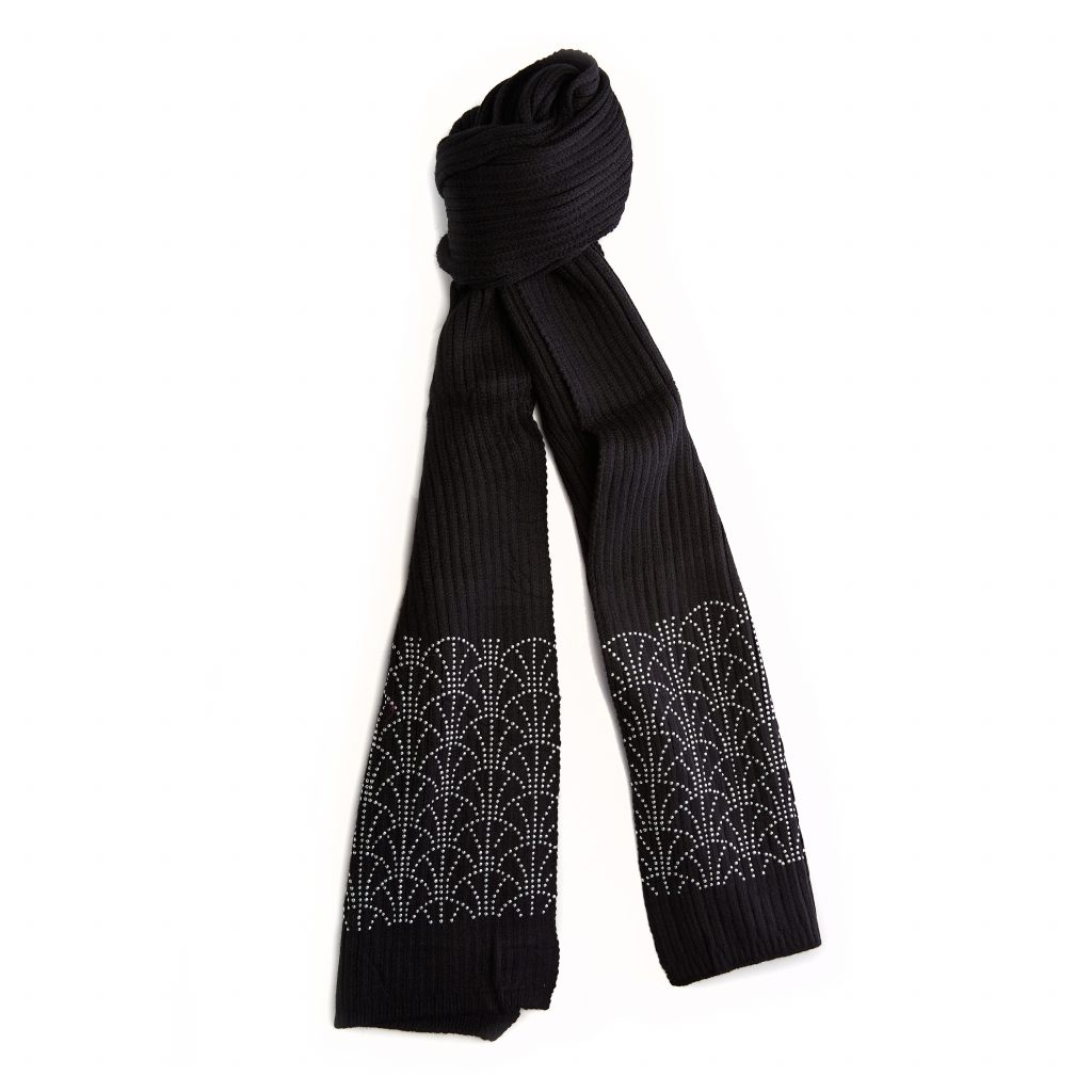 Arennascarf Black Fabric