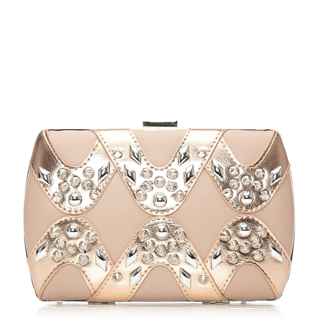 Lioraclutch Nude-Rose Gold Porvair