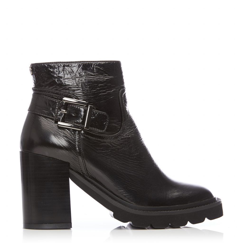 Loula Black Leather