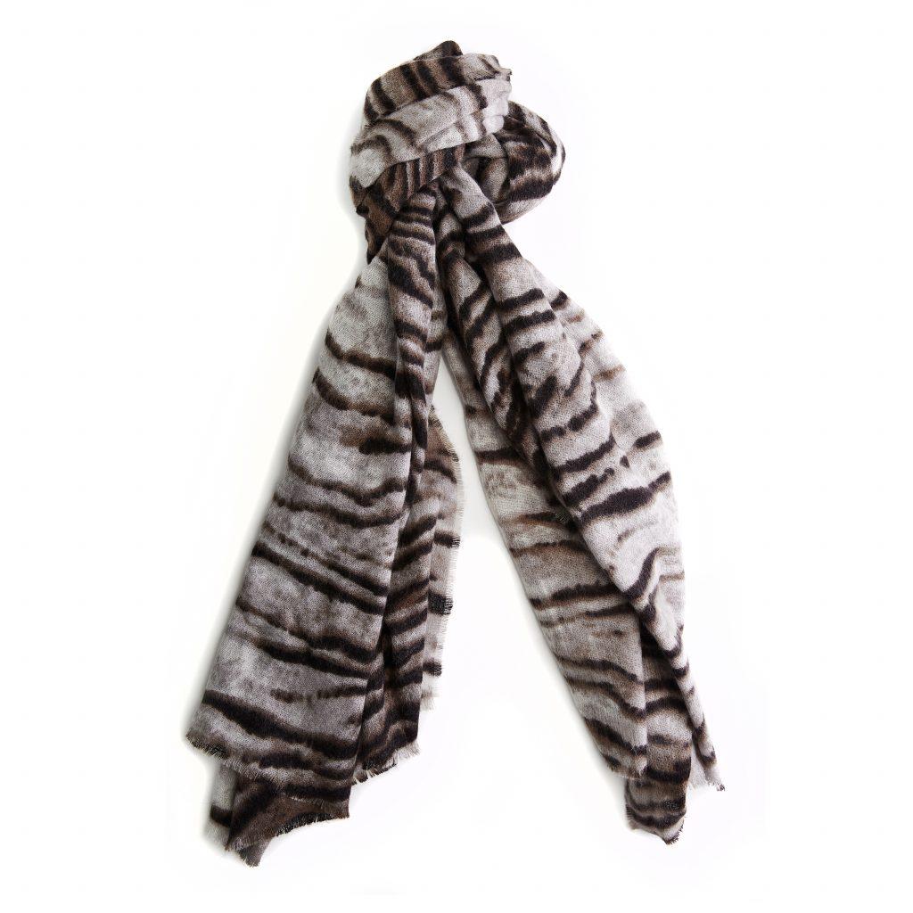 Zebrellascarf Natural Fabric