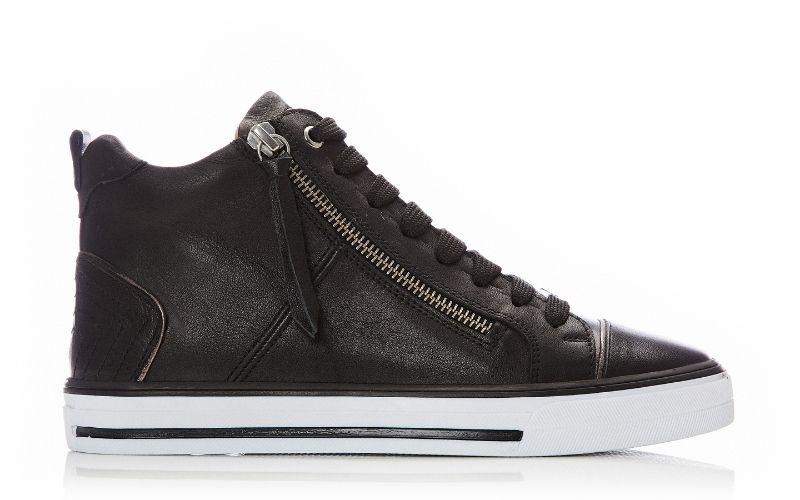 Elasha Black Leather