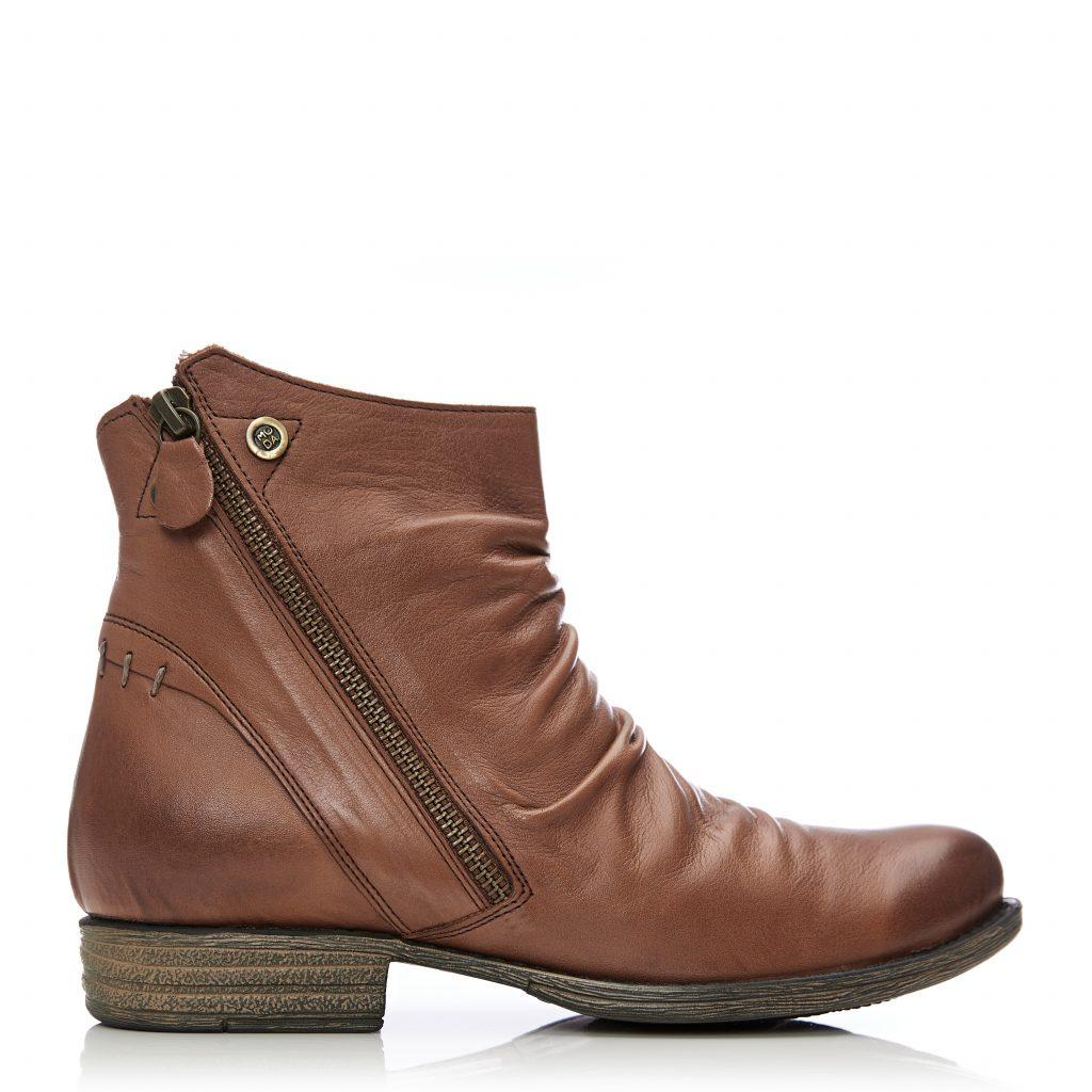 Annika Dark Tan Leather