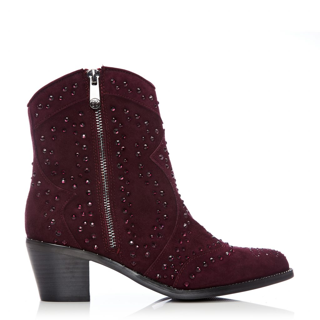 Calita Purple Suede Boots