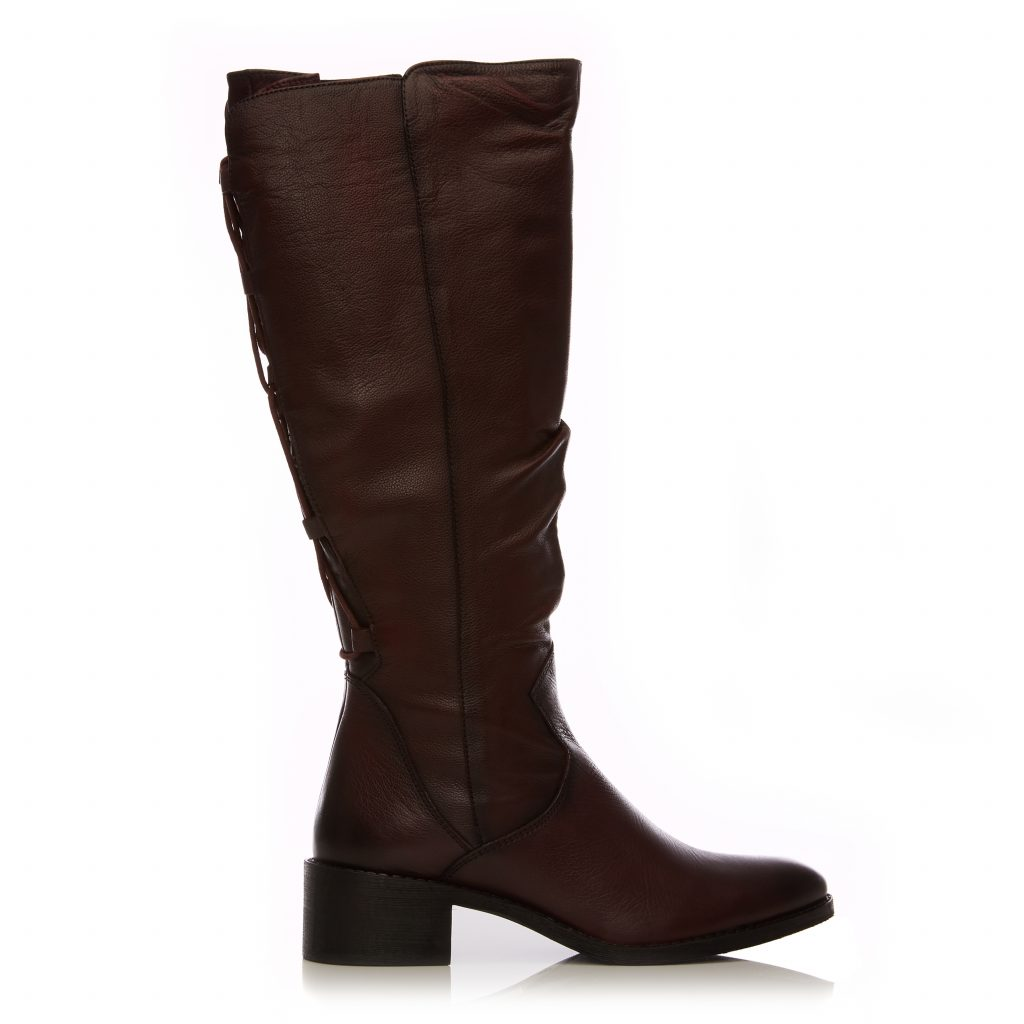 Lucura Burgundy Leather