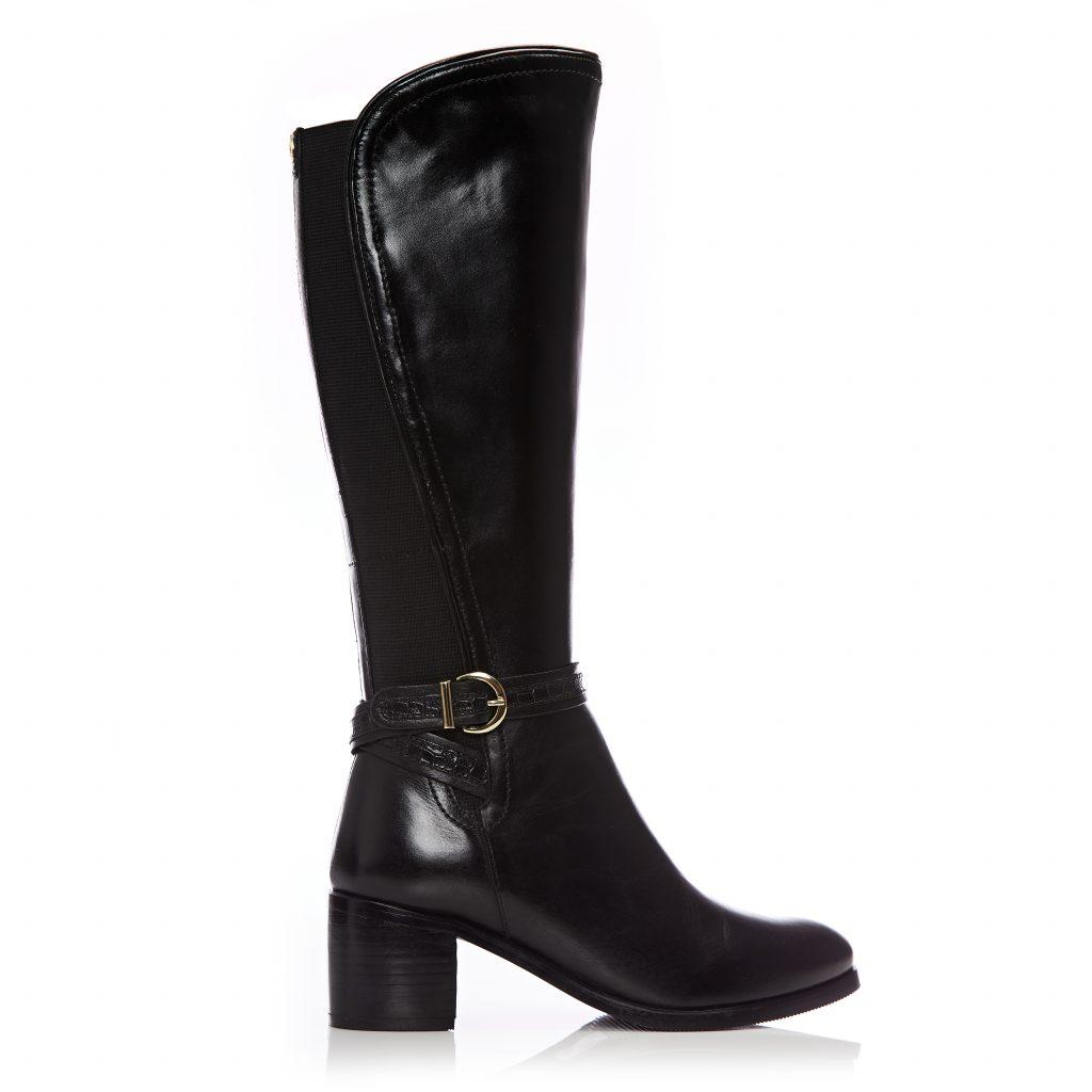 Saschana Black Leather
