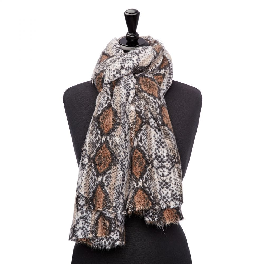 Snakesscarf Natural Snake Fabric