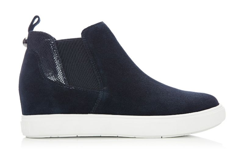 Avah Navy Suede