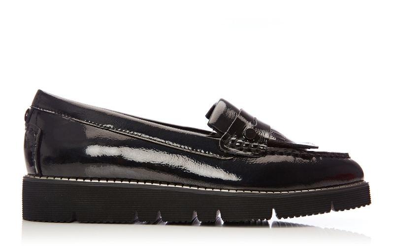Ferla Black Patent Leather