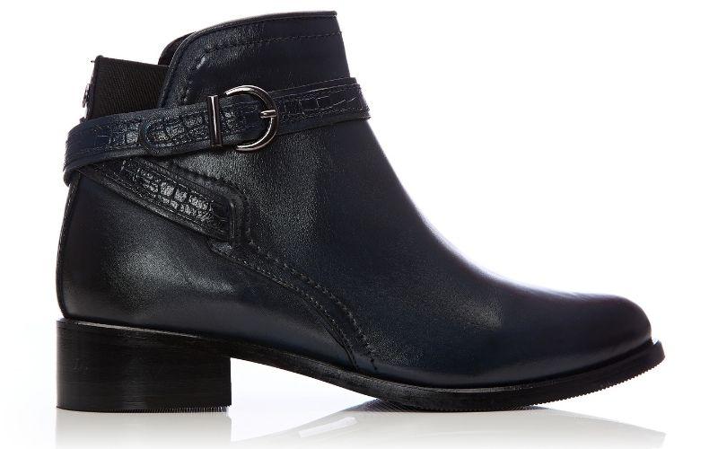 Lettia Navy Leather