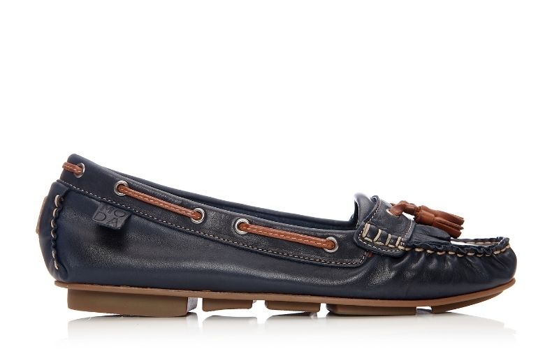 Errin Navy Leather
