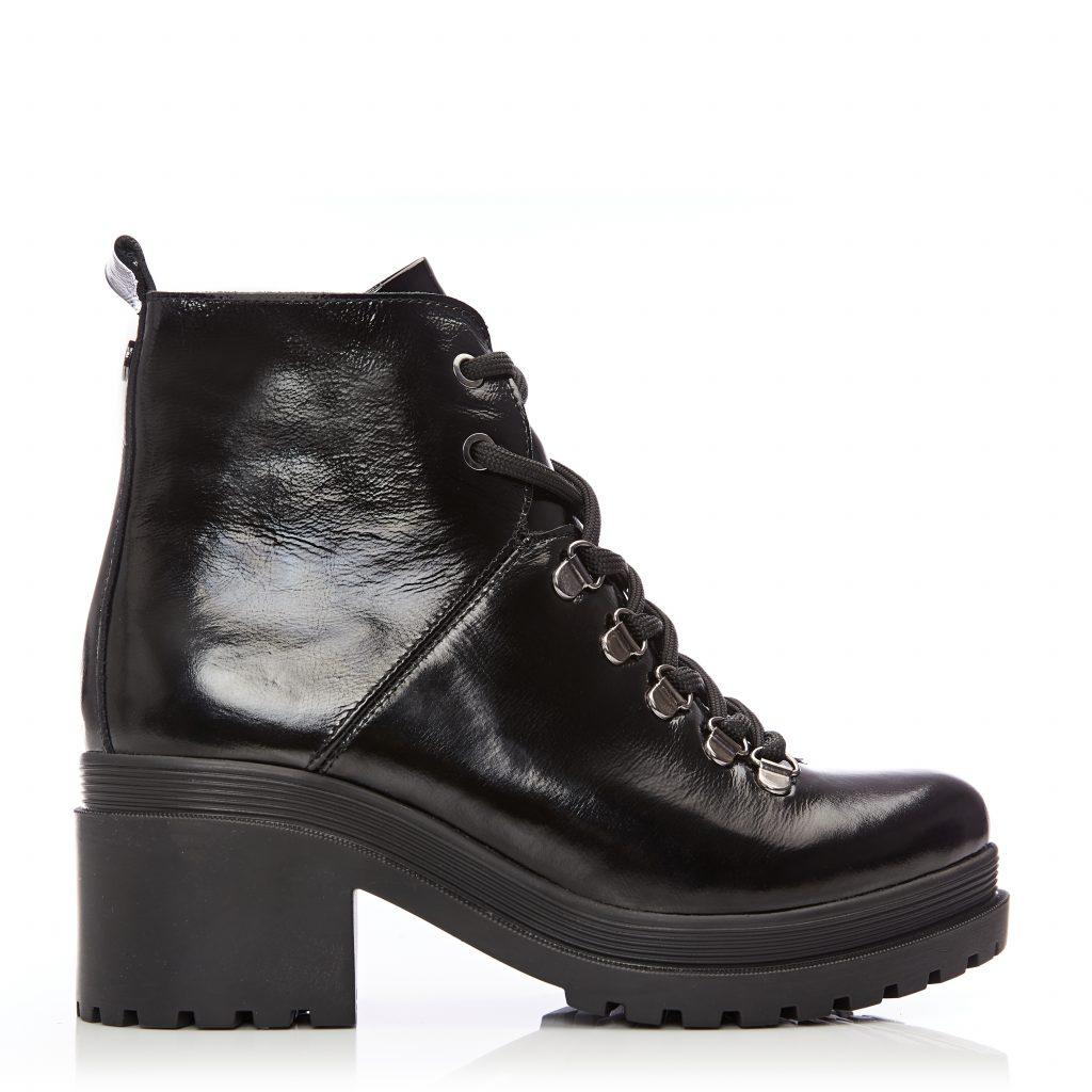 Bellon Black Patent Leather