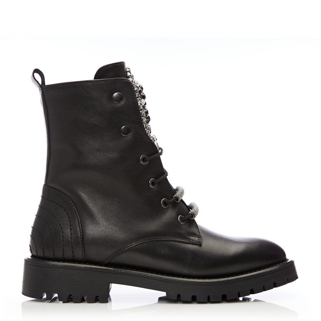Charenia Black Leather