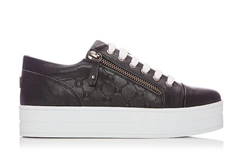 Aliamoda Black Leather