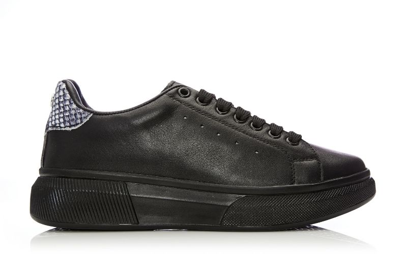 Bridgette Jet Black Leather