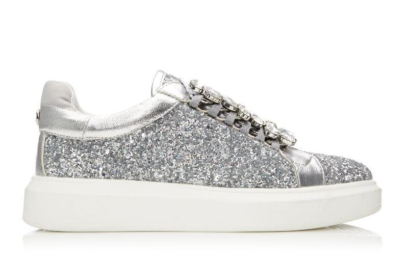 Averie Silver Glitter