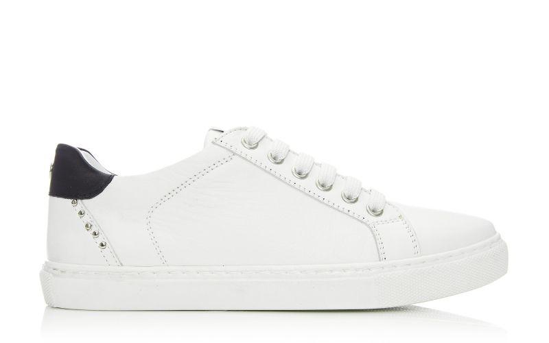 Bradd White Leather