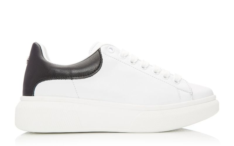 Bradie White Leather