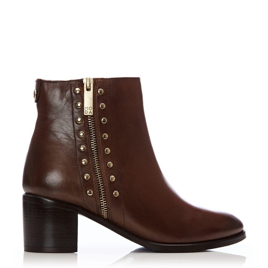 Beula Tan Leather