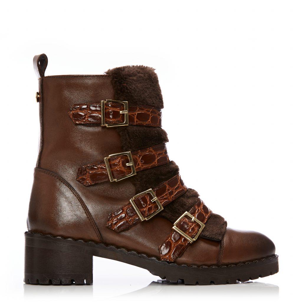 Channie Tan Leather