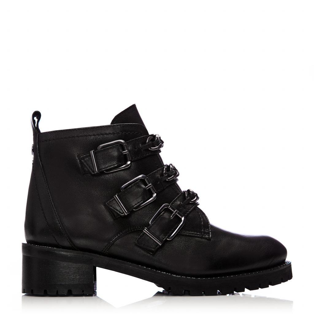 Coleene Black Leather